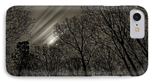 Approaching Storm, Black And White IPhone Case