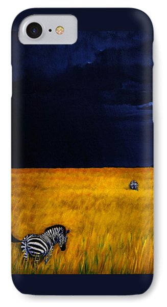 Approaching Storm Phone Case by Edith Peterson-Watson