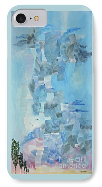 Approaching Storm Phone Case by Jeni Bate