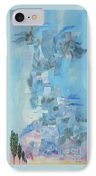 Approaching Storm IPhone Case by Jeni Bate