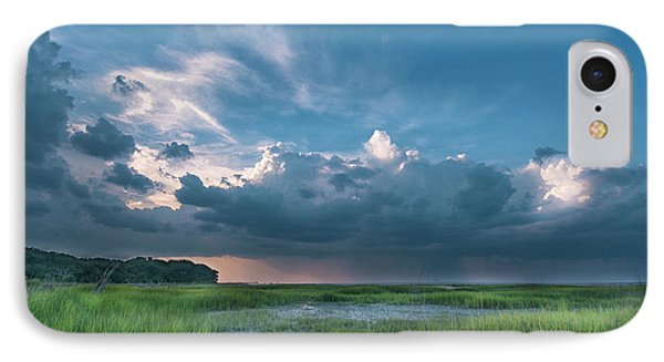 IPhone Case featuring the photograph Approaching Storm by Phyllis Peterson