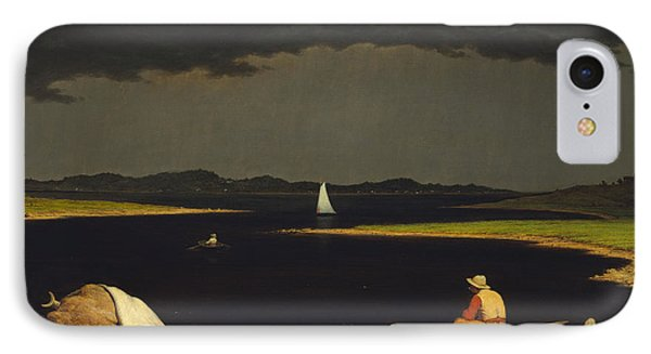Approaching Thunderstorm Phone Case by Martin Heade