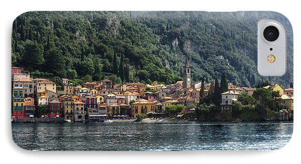 Approaching Varenna IPhone Case by Jim Hill