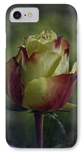 April 2017 Rose - Inspired By Emerson IPhone Case by Richard Cummings