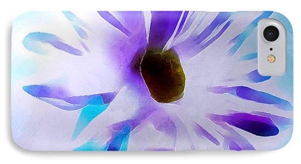 April Daisy IPhone Case by Krissy Katsimbras