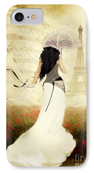 April In Paris IPhone Case by Shanina Conway