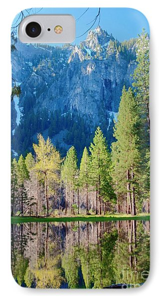 April Reflection IPhone Case by Loriannah Hespe