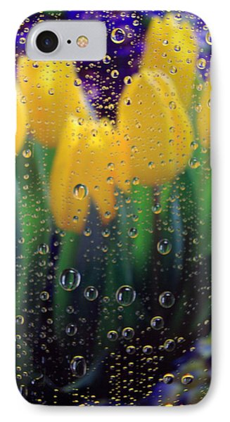 April Showers IPhone Case by Linda Mishler