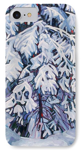 April Snow IPhone Case by Phil Chadwick