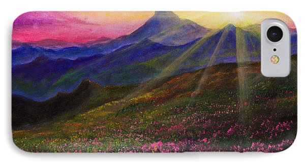 April Sunset IPhone Case by C Steele