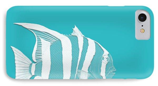 Aqua Fish  IPhone Case by Bonnie Bruno