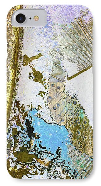 Aqua Metallic Series Free IPhone Case by Tony Rubino