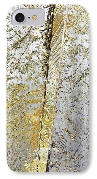 Aqua Metallic Series Gold Rush IPhone Case by Tony Rubino