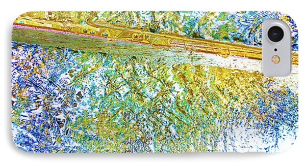 Aqua Metallic Series Cool IPhone Case by Tony Rubino