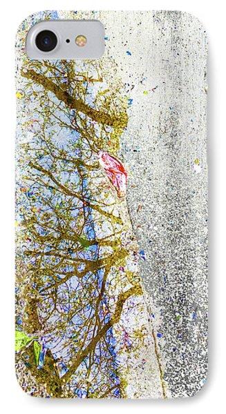 Aqua Metallic Series Spring IPhone Case by Tony Rubino