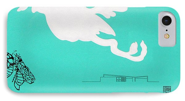 Aqua Palm Springs Idyll IPhone Case
