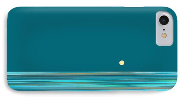 IPhone Case featuring the digital art Aqua Sea by Val Arie