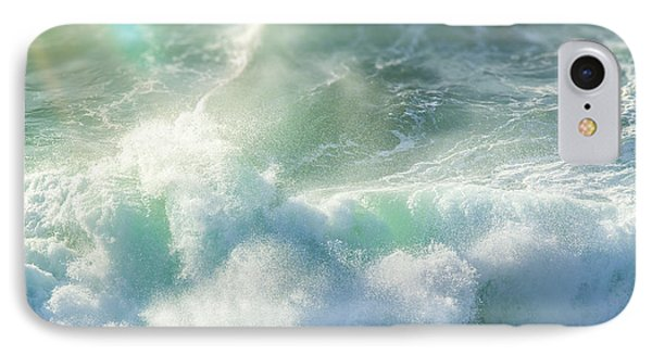 IPhone Case featuring the photograph Aqua Surge by Amy Weiss