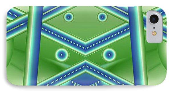 IPhone Case featuring the digital art Aquamarine by Ron Bissett