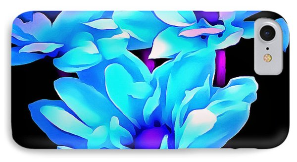 Aquarian Blues IPhone Case by Krissy Katsimbras