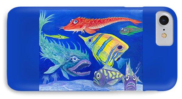 Aquarium 1 IPhone Case by Adria Trail