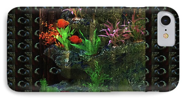 IPhone Case featuring the photograph Aquarium Kids Entertainment Posters Pod Gifts Pillows Tote Bags Towels Curtains Tshirts Greetingcard by Navin Joshi