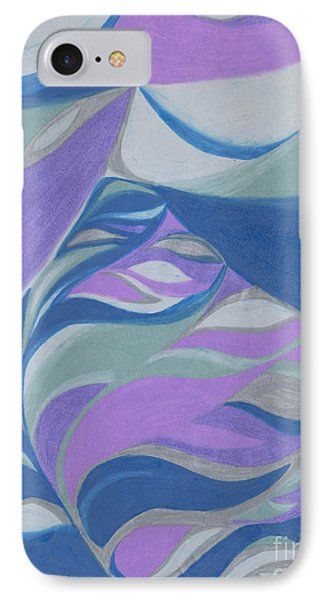 IPhone Case featuring the drawing Aqueous by Kim Sy Ok