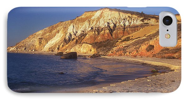 Aquinnah Gay Head Cliffs IPhone Case by John Burk