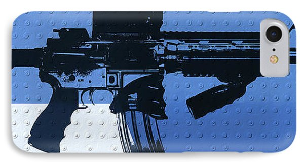 Ar 15 Pop Art Metal Panels IPhone Case