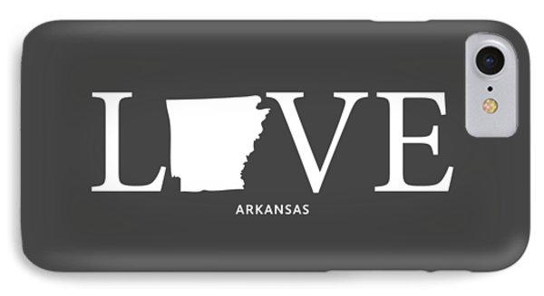 Ar Love IPhone 7 Case by Nancy Ingersoll