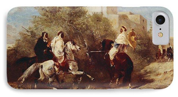 Arab Horsemen Phone Case by Eugene Fromentin