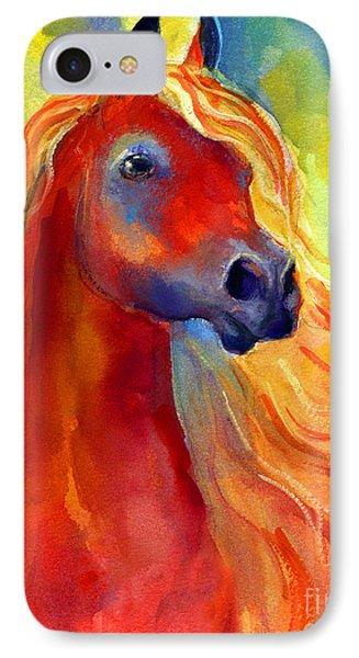 Arabian Horse 5 Painting Phone Case by Svetlana Novikova