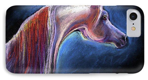 Arabian Horse Equine Painting IPhone Case