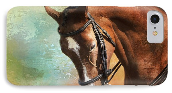 IPhone Case featuring the photograph Arabian Horse by Theresa Tahara