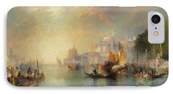 Arabian Nights Fantasy IPhone Case by Thomas Moran