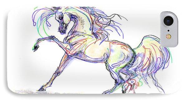 Arabian Stallion Talk IPhone Case