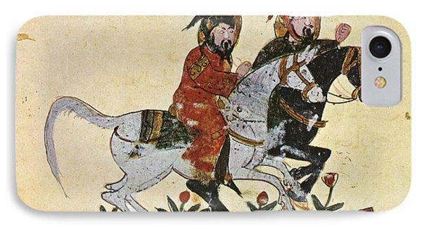 Arabic Horseman 1210 IPhone Case by Granger