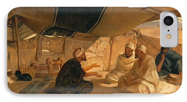 Arabs In The Desert Phone Case by Frederick Goodall