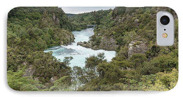 IPhone Case featuring the photograph Aratiatia Rapids by Gary Eason