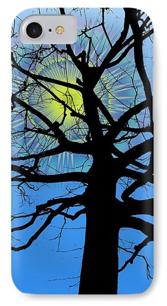 Arboreal Sun IPhone Case by Tim Allen