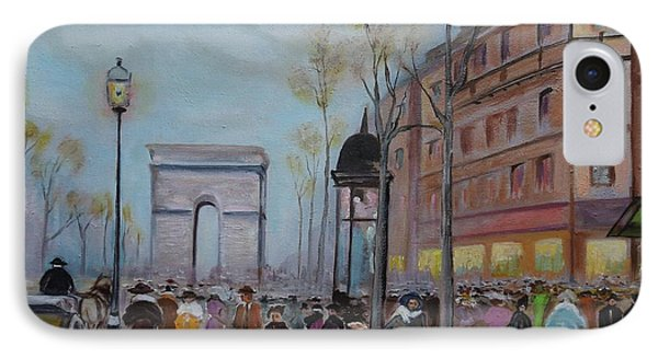 Arc De Triompfe - Lmj IPhone Case by Ruth Kamenev