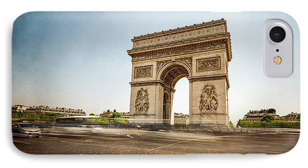 IPhone Case featuring the photograph Arc De Triumph by Hannes Cmarits