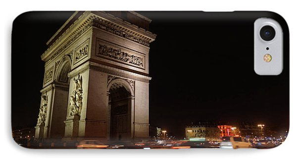 Arc Du Triomphe Paris Phone Case by Erik Tanghe