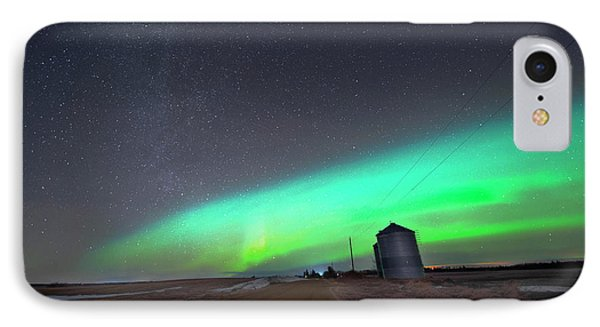 IPhone Case featuring the photograph Arc Of The Aurora by Dan Jurak