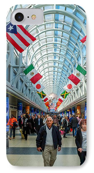 Arcade Of Flags IPhone Case by John McArthur