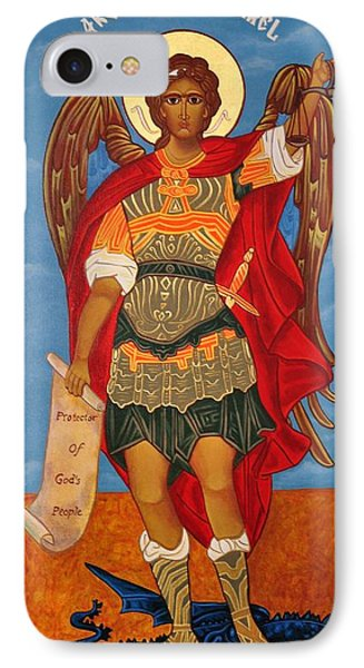 Arch Angel - St Michael Phone Case by Bill Cannon