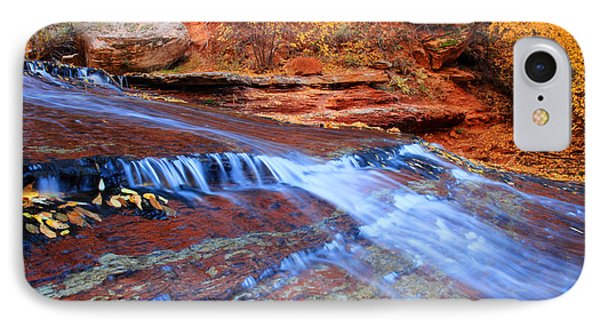 Arch Angel Falls In Zion Phone Case by Pierre Leclerc Photography