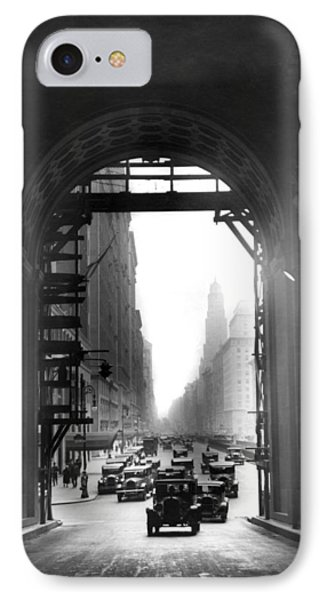 Arch At Grand Central Station IPhone Case by Underwood Archives