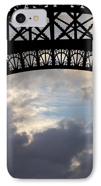 IPhone Case featuring the photograph Arch At The Eiffel Tower by Heidi Hermes