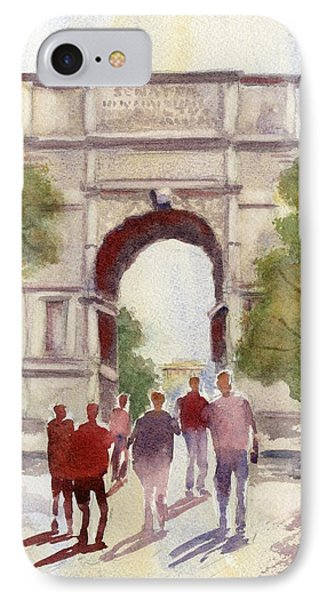 Arch Of Titus IPhone Case